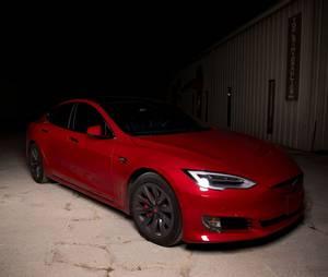 Bilde av Tesbros Chrome Delete Kit Tesla Model S