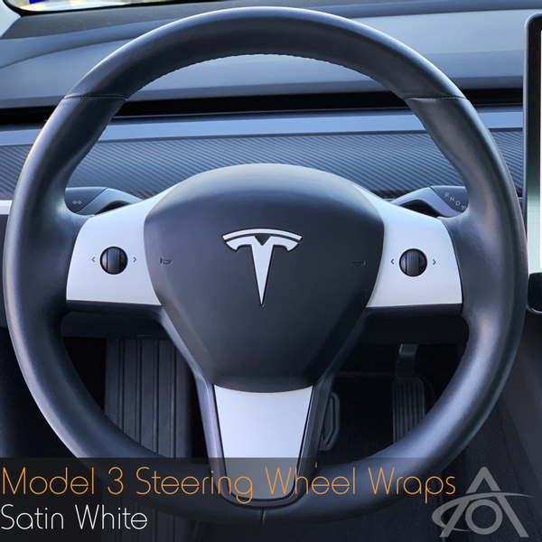 Folie til ratt - Tesla Model 3 & Y